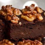 Owsiane brownie z orzechami włoskimi FIT