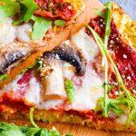 Najlepsza pizza na spodzie z kalafiora FIT