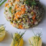 Najlepsza na odporność – sałatka warzywna z ekologiczną komosą ryżową i kalarepą (wegańska)