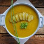 Prozdrowotna zupa krem z ogórków kiszonych
