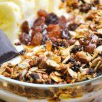 Bardzo chrupiąca granola z kaszą gryczaną i kakao