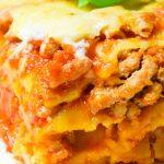 Najlepsza lasagne bolognese z beszamelem