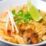 Pad Thai z krewetkami i kurczakiem FIT