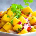 Meksykańska salsa mango chili